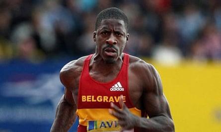 Athletics - Dwain Chambers - Filer