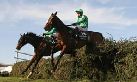 Mon Mome ridden by Liam Treadwell jumps the last to win the Grand National.
