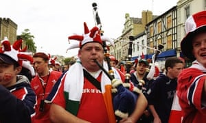 Munster fans took over Cardiff during last year's Heineken Cup final against Toulouse.