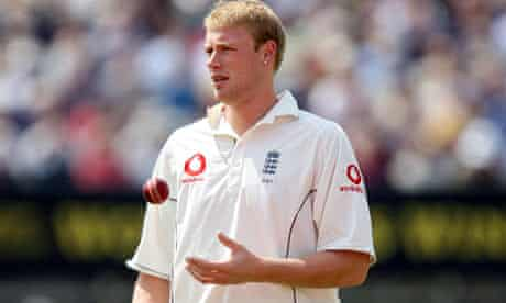 Andrew Flintoff, the England cricketer