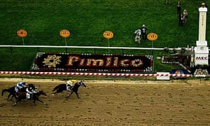 Rachel Alexandra wins the 134th Preakness Stakes