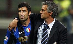 Jose Mourinho,  Luis Figo