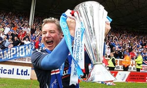 Ally McCoist admits he would like to manage Rangers