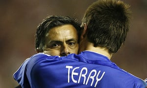 John Terry is said to have clashed with Jose Mourinho at Chelsea