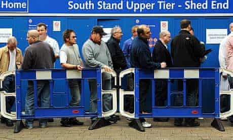 Chelsea have maintained crowds by freezing season-ticket and match-day ticket prices.