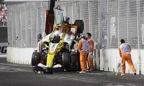 Nelson Piquet crash