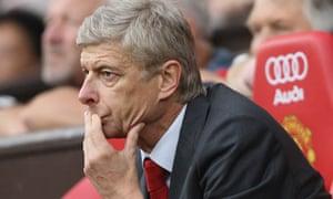 Arsène Wenger, the Arsenal manager