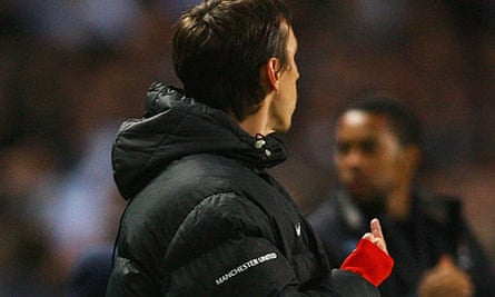Gary Neville finger gesture