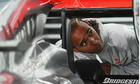 Lewis Hamilton in Korea