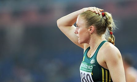Sally Pearson was disqualified on protest having won the 100m final at the Commonwealth Games