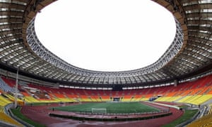 The Luzhniki Stadium would be one of the host stadiums were Russian to win the 2018 World Cup