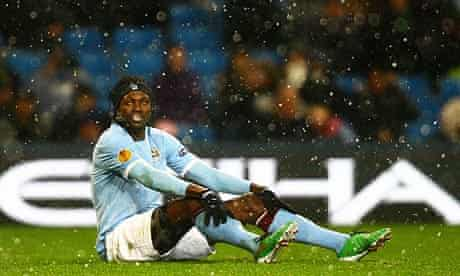 Emmanuel Adebayor is ready to 'go to war' in order to force a move from Manchester City to Tottenham