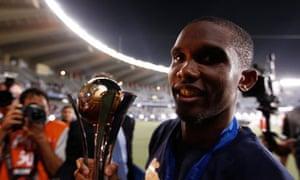 Samuel Eto'o African Player of the Year Inter Milan