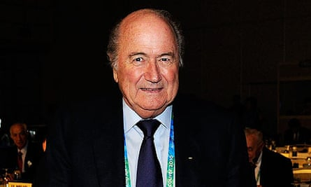 Sepp Blatter is in Vancouver for an IOC session ahead of the 2010 Winter Olympics