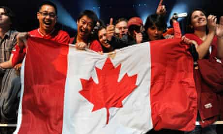 Canada's two gold medals