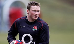 Chris Ashton during a training session with England this week