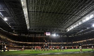 Wales v France at the Millenium Stadium