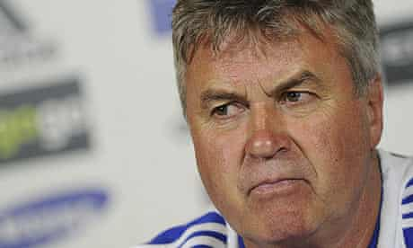 Guus Hiddink won the FA Cup during his short spell in charge of Chelsea