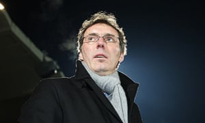 Laurent Blance is one of three French managers still in this season's Champions League