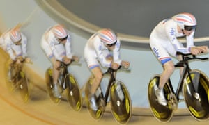 Great Britain cycling quartet