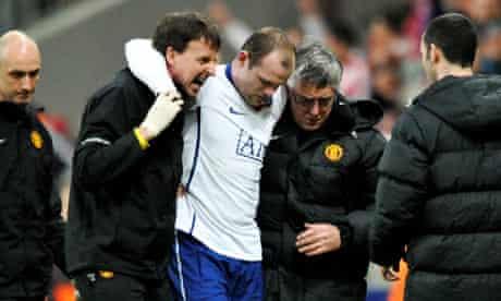wayne rooney injured