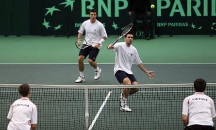 Lithuania v Great Britain - Davis Cup Day Two
