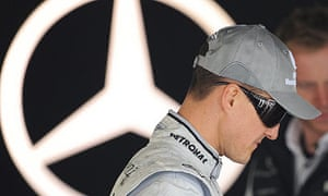 Michael Schumacher has yet to win a grand prix since returning to F1 with Mercedes