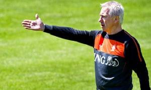 Holland manager Bert van Marwijk