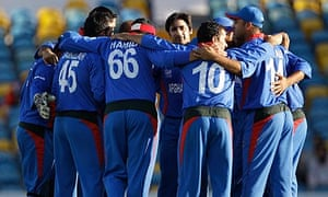 Afghanistan's players