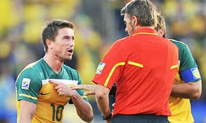Harry Kewell red card