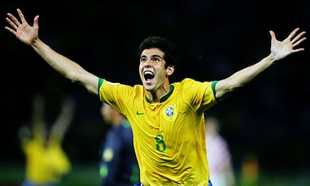 Kaká will play in his third World Cup in South Africa