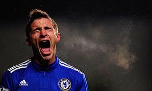 Chelsea striker Fabio Borini counts as a homegrown player despite being Italian