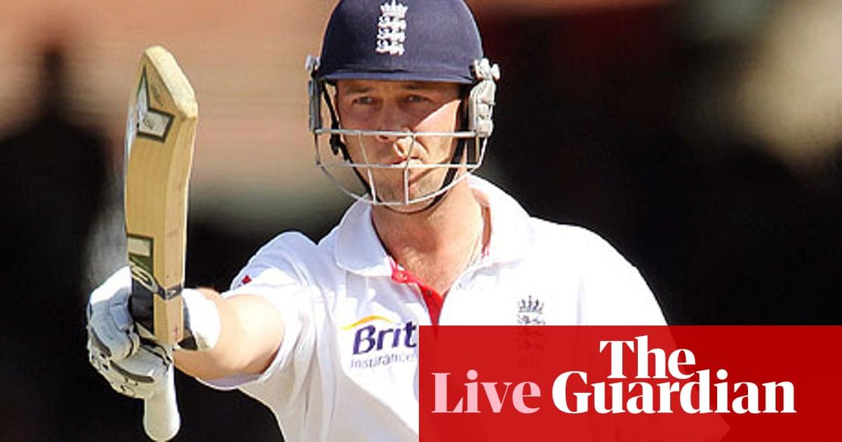 England v Pakistan - as it happened | Rob Bagchi | Sport