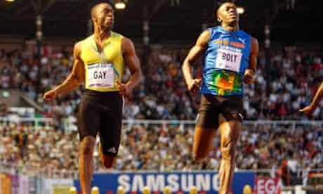 Usain Bolt , Tyson Gay