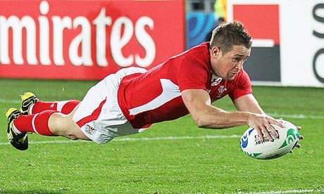 O Brien Auto Park >> Rugby World Cup 2011: Shane Williams signs off with ...