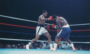 Muhammad Ali and Joe Frazier in Manila