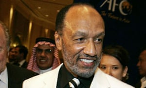 Mohamed bin Hammam was banned for life by Fifa