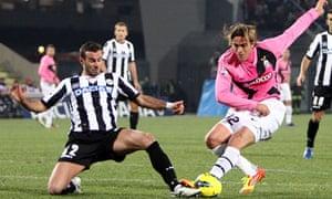 Alessandro Matri and Damiano Ferronetti