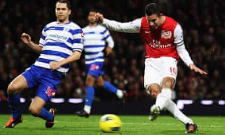 Arsenal v Queens Park Rangers - Premier League