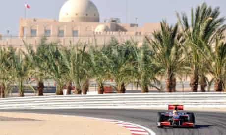 Bernie Ecclestone Bahrain grand prix