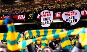 Manchester United green and gold