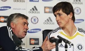 Fernando Torres Carlo Ancelotti Chelsea Liverpool