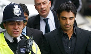 Salman Butt, arrives at City of Westminster Magistrates Court in central London