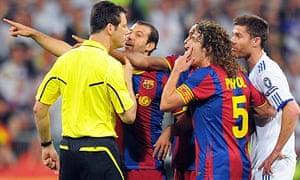 A typical scene at the Bernabéu