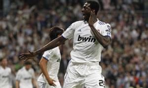 Emmanuel Adebayor Real Madrid Manchester City
