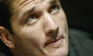 Joost van der Westhuizen, seen here in 2003, has been disagnosed with motor neurone disease