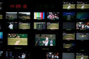 Wimbledon photo book: Multiple live feeds of tennis around the Wimbledon courts
