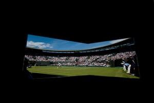 Wimbledon photo book: General view of Wimbledon Court 1