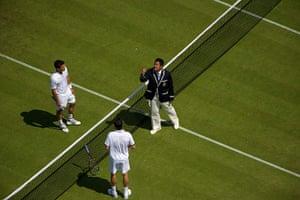 Wimbledon photo book: Coin toss Ceremony