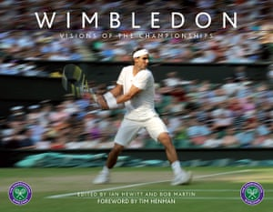 """Wimbledon photo book: Front cover of the book """"Wimbledon Visions of the Championships"""""""
